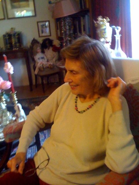 Mom, Christmas, 2008