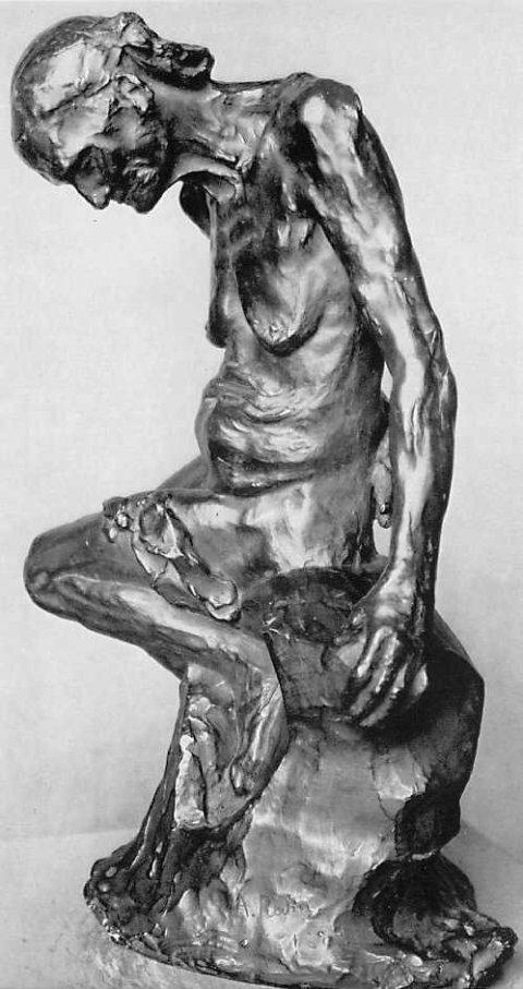 'Celle qui fut la belle heaulmière', Rodin