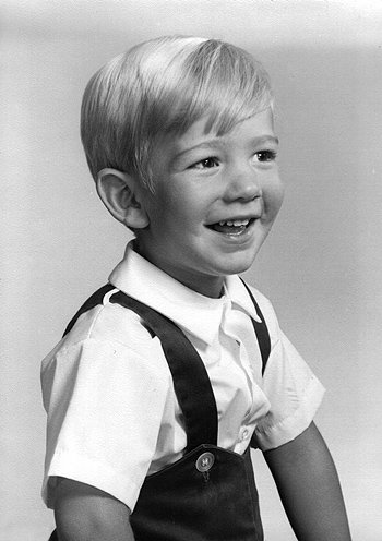Jeff Bezos at a tender age