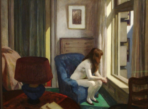 11 a.m.; 1926, Edward Hopper