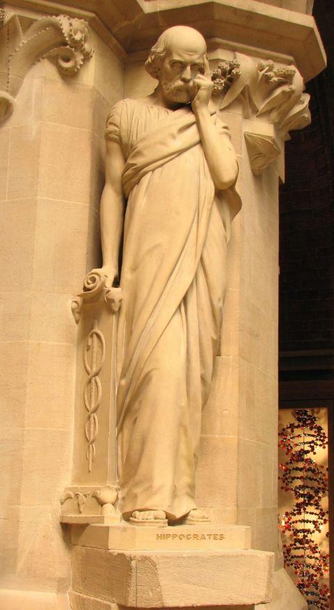Hippocrates statue, Oxford