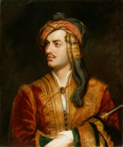 NPG 142; George Gordon Byron, 6th Baron Byron replica by Thomas Phillips