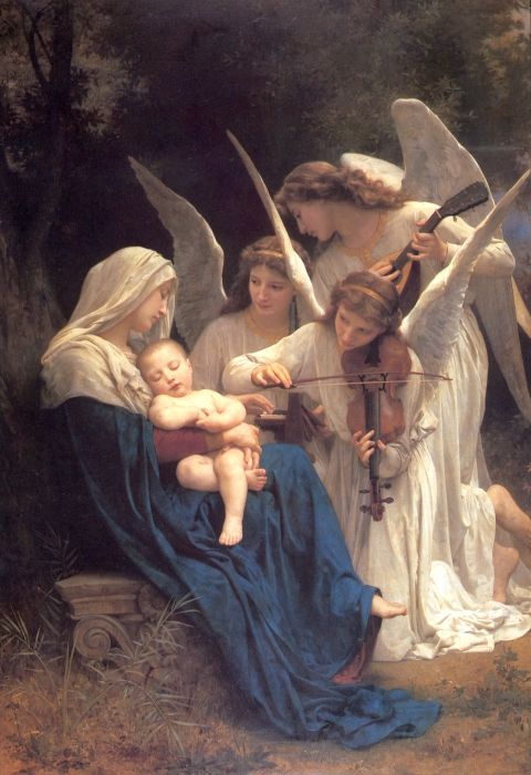 Song of the Angels William-Adolphe Bougereau, 1881