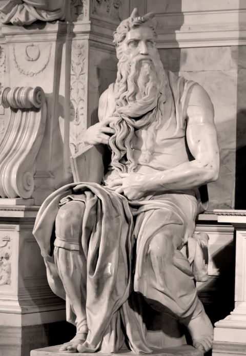 Moses. Michelangelo